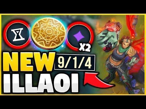 SEASON 9 ILLAOI IS 100% BROKEN! INFINITE KLEPTO PROCS WITH E! GODTIER CHAMP  League of Legends
