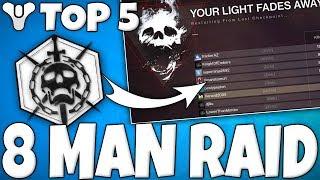 Destiny 2 - 8 Man Raid GLITCH!! Top 5 WTF Moments Of The Week / Episode 2