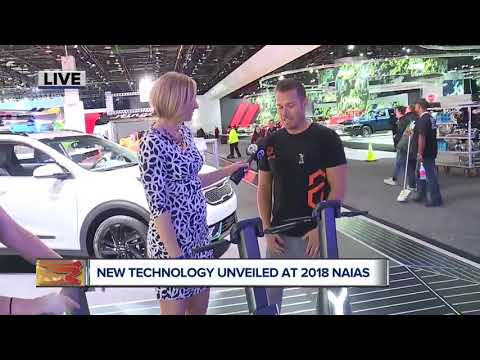 New technology at the North American International Auto Show