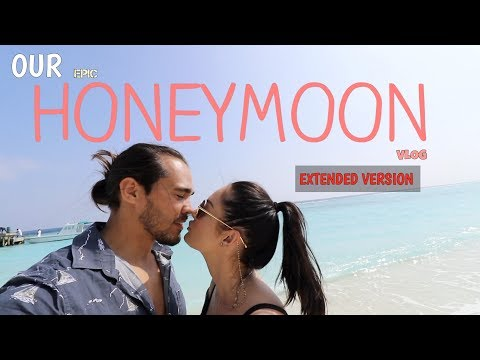 THE MALDIVES HONEYMOON VLOG\\ EXTENDED VERSION