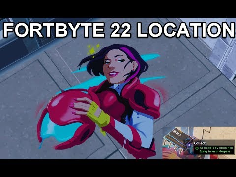 Fortbyte 22 Location Fortnite Challenge
