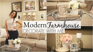 Modern Farmhouse Decorate With Me! Hobby Lobby, Ross & Home Goods
