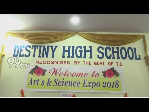 DESTINY HIGH SCHOOL || ARTS AND SCIENCE EXPO 2018