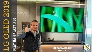 LG OLED 2019 tutta la GAMMA. PLAY da GALAXY A50