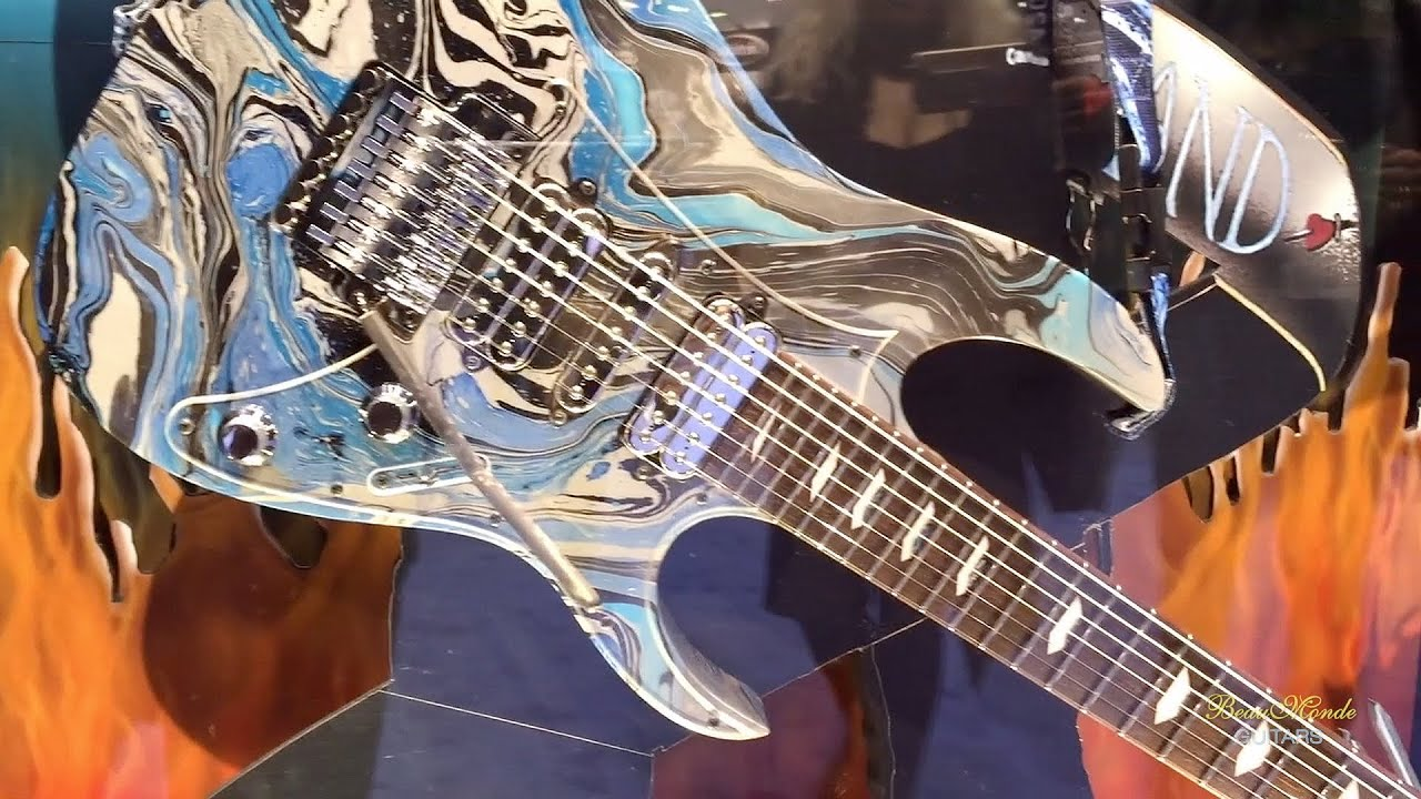 ibanez guitars namm 2016 part i youtube