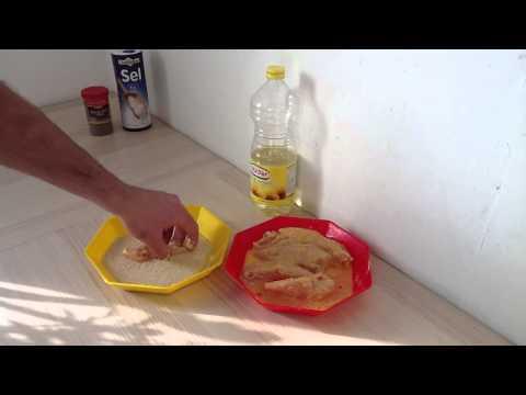 faire-du-poulet-pané---recette-escalopes-panées
