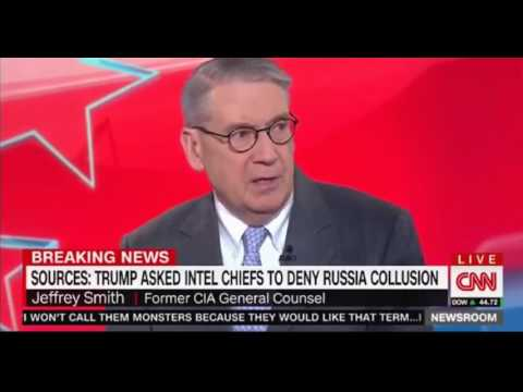 Jeffrey Smith Former CIA General Counsel believe Trumps behaviour is disturbing and similar to Nixon