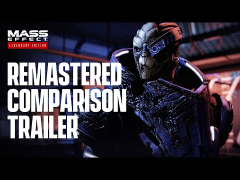 Mass Effect Legendary Edition – Official Remastered Comparison Trailer (4K)