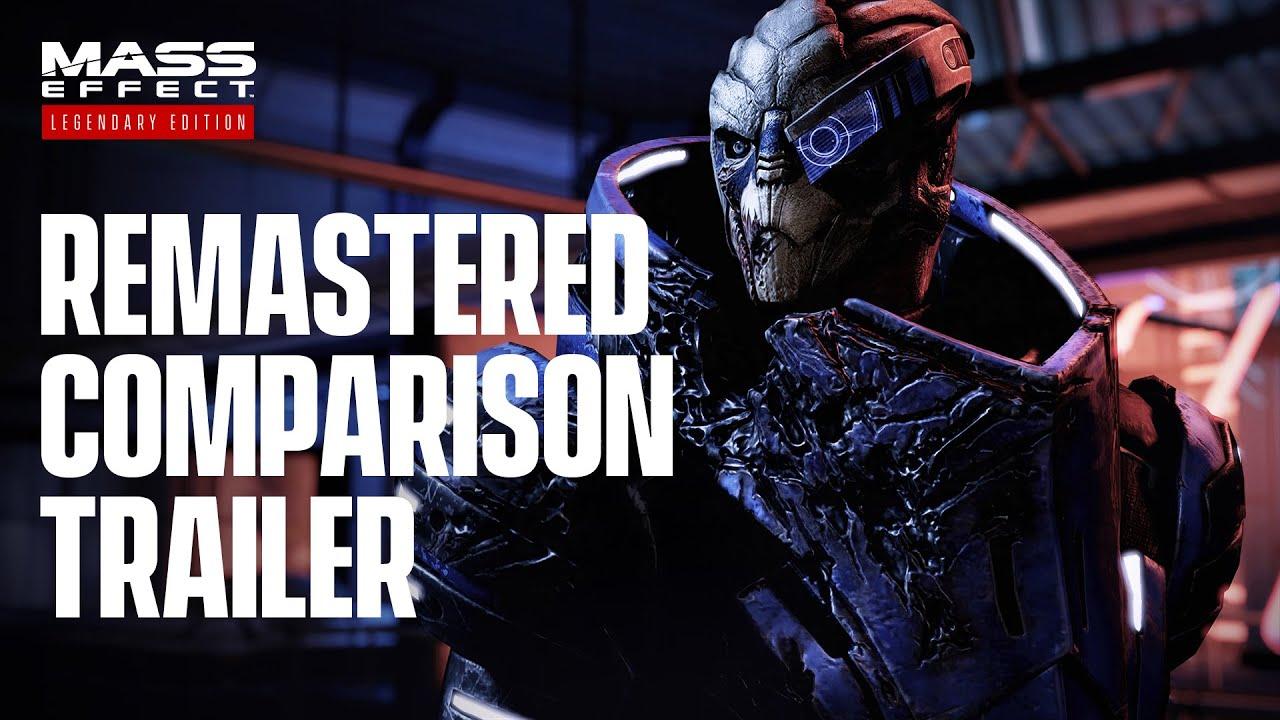 Показала сравнительный трейлер Mass Effect Legendary Edition