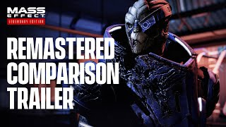 Mass Effect Legendary Edition - Official Remastered Comparison Trailer (4K)