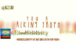 HoodCelebrityy walking Trophy Song and Review