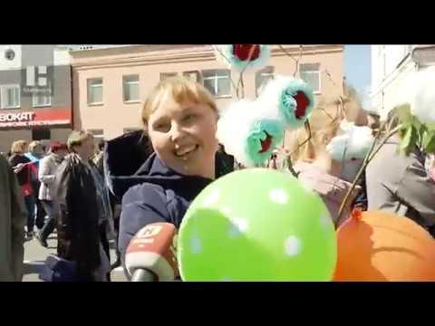 На первомайские торжества вышли 50 тысяч жителей Тамбовской области