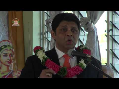 Acting Prime Minister opens Sangam School Heads Meeting.