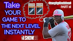 Ways To Improve Your Gameplay INSTANTLY in MLB The Show 20! Tips and Strategies Part 2!