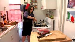 Economy Bites (cooking Show) Episode 7: Mozzarella Mushroom Meatballs