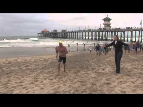 Huntington Beach Annual Pier Swim.mov