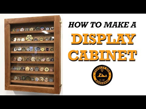 DIY Wall Mount Display Cabinet
