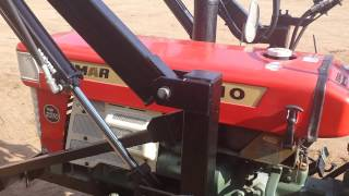 Yanmar Ym2210  used compact tractor for sale by Toughtractors.com