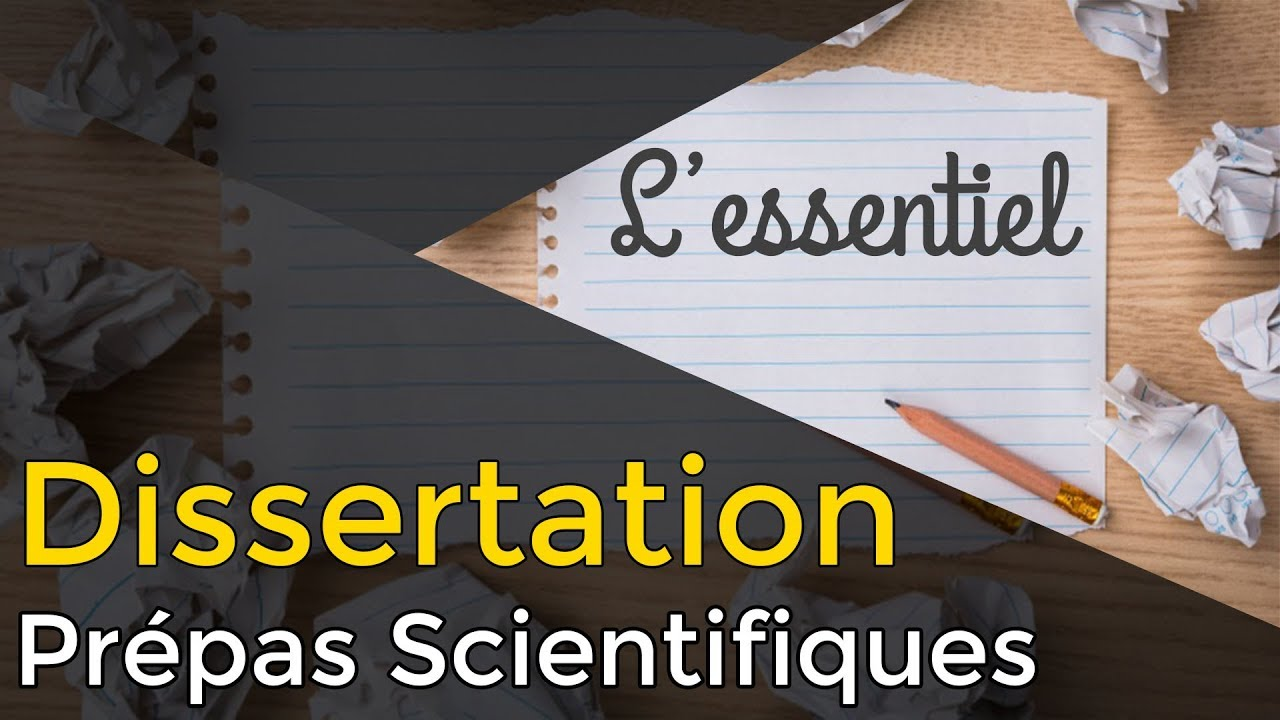 méthodologie dissertation cpge scientifique