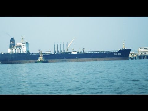 Big Ship.Vessel SUVARNA SWARAJYA at Arabian Sea near Elephan