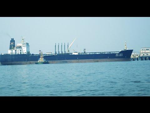 Big Ship.Vessel SUVARNA SWARAJYA at Arabian Sea near Elephanta Island.Mumbai,India.Ships.Boat Ride