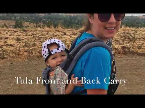 Tula Front and Back Carry