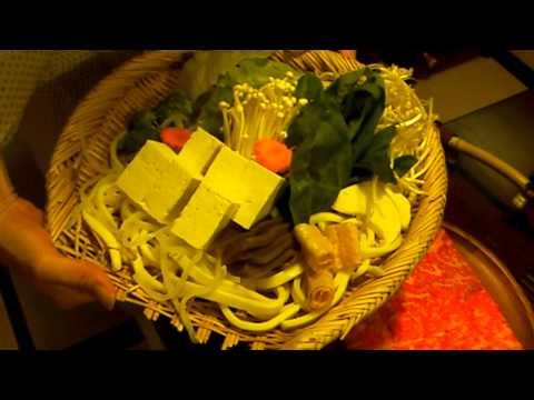 Beef for shabu-shabu & summer vegetables