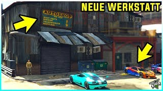 😍 Die NEUE TUNING WERKSTATT in GTA 5 Online! 😱 AUTOS mal GANZ anders TUNEN! 😍