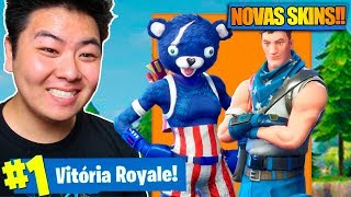 I BOUGHT THE NEW SKIN * COMMEMORATIVE * OF THE UNITED STATES AND VENCI! -Fortnite Battle Royale