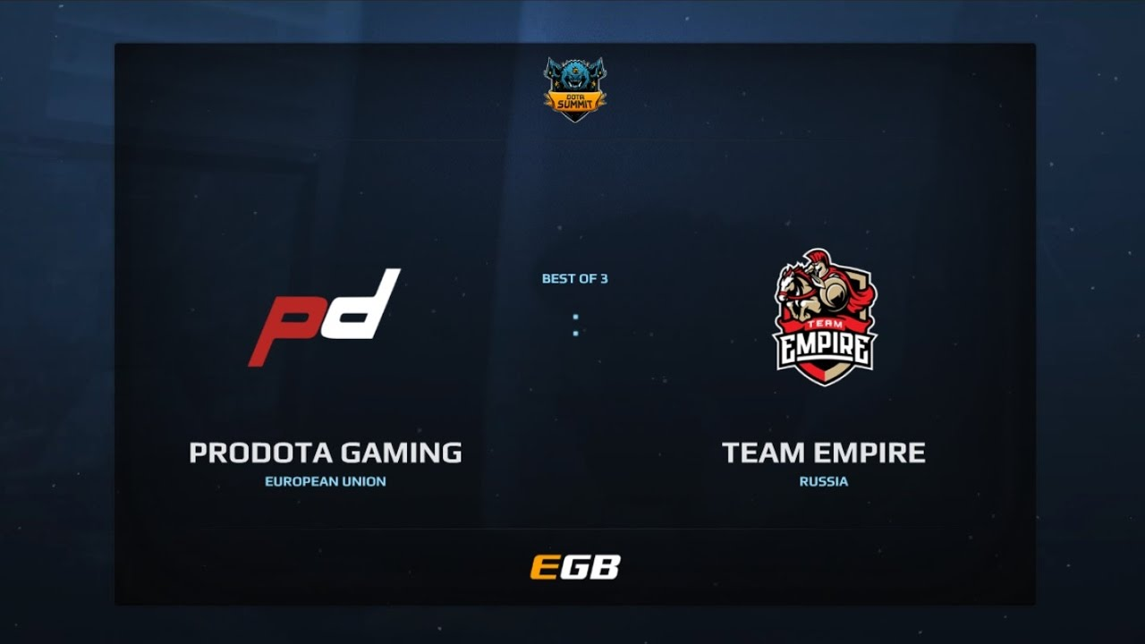 PD Gaming vs Team Empire, Game 2, Dota Summit 7, EU Qualifier