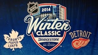 2014 NHL Winter Classic Intro HD NHL NBC Toronto Vs Detroit
