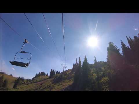 Sunshine Village Chair lift RIDE | Banff Alberta Canada