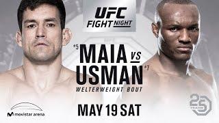 UFC Chile Demian Maia vs Kamura Usman livestream fight companion, Fights with Friends!