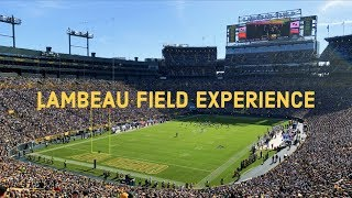 LAMBEAU FIELD EXPERIENCE | GREEN BAY PACKERS