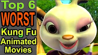 Gambar cover Top 6 Worst Kung Fu Animated Movies