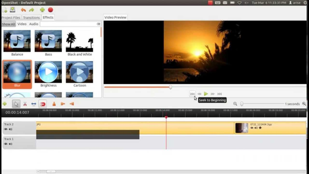 best video editing software for linux