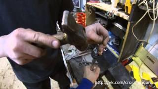 Motoland XR 250 - доработка заднего амортизатора