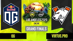 Dota2 - OG vs. Virtus.pro - Game 5 - Grand Finals - EU/CIS - ESL One Los Angeles