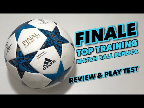 ADIDAS FINALE TOP TRAINING MATCH BALL REPLICA   REVIEW & PLAY TEST