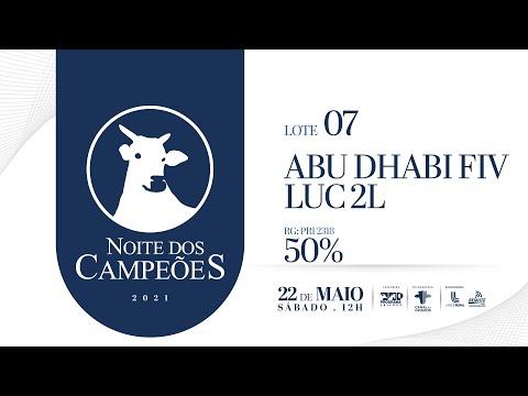 Lote 07   ABU DHABI FIV LUC 2L   PRI 2318 Copy