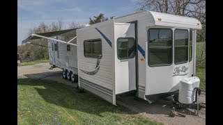 2018 Hy Line 42 HY Park Model Style Travel Trailer Walk-Aound Tutorial Video