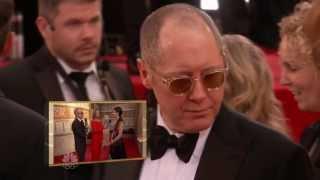 2014 Golden Globes Awards Red Carpet -James Spader
