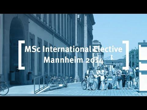 Cass Business School: MSc International Elective, Mannheim 2014