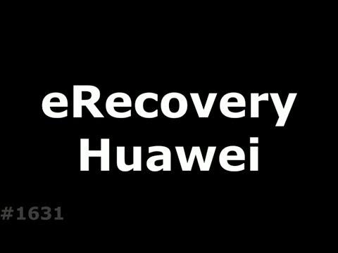 eRecovery Huawei. Новый способ прошить Huawei без компьютера