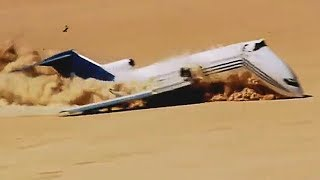 Pilot Deliberately Crashes Plane In The Desert