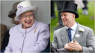 Queen Funny Moment, Mike Tindall this Joke make Queen laugh out loudly