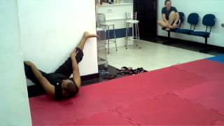 Aula especial de abertura de perna no Kung Fu com prof. Welton Silva na Águias Fight Team