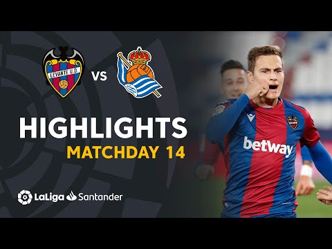 Levante Real Sociedad Goals And Highlights