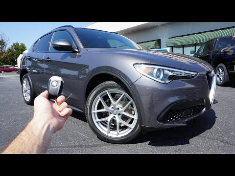 2018-alfa-romeo-stelvio-ti-sport:-start-up,-exhaust,-test-drive-and-review