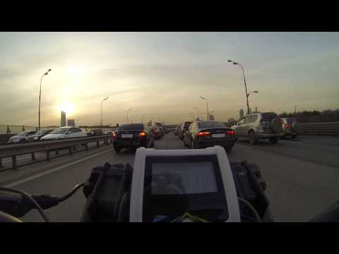 E-bike riding in Moscow Work commute 100 kph + 60mph +